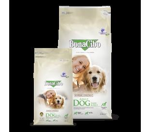 "BonaCibo מזון לכלבים  כבש 15 ק""ג"