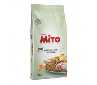 """MITO-מזון לחתולים 15 ק""""ג מיטו"""