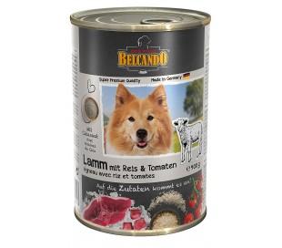 בלקנדו שימורים לכלב בשר וירקות 800 גרם