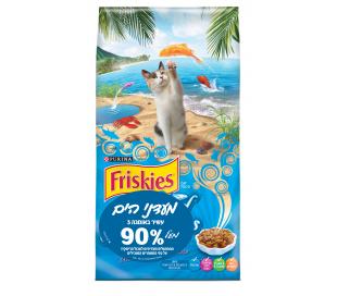 "friskies מעדני ים לחתול בוגר 7.27 ק""ג"