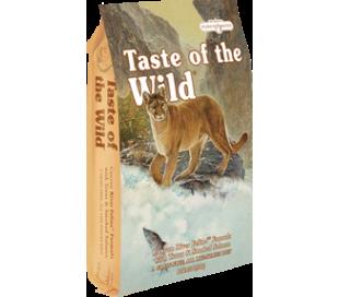 "taste of the wild לחתול בוגר סלמון ופורל 13 ק""ג"