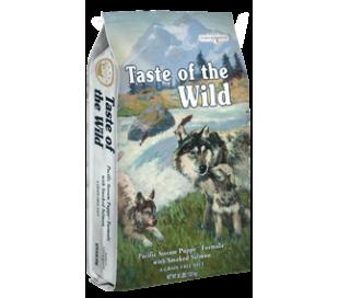"taste of the wild לכלב גור סלמון  13 ק""ג"