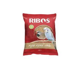 """תערובת לתוכים ופינקים 4 ק""""ג RIBOS"""
