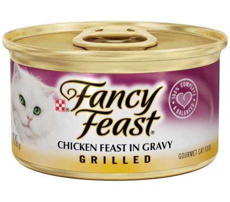 פנסי פיסט גריל עוף ברוטב 85 גרם