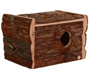 "תא הטלה עץ טבעי 21 ס""מ TRIXIE"