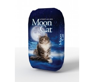 "MOON CAT מזון לחתולי חצר 18 ק""ג"