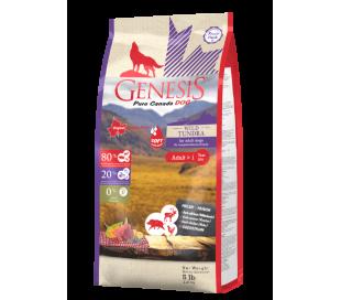 """ג'נסיס כלב בוגר חצי רך 2.27 ק""""ג ללא דגנים - Genesis WILD TUNDRA"""