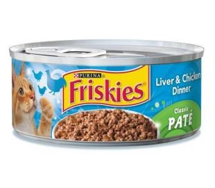 פריסקיז שימורים לחתול כבד עוף Friskies