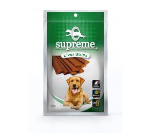 supreme חטיף בשר בטעם כבד 80 גרם