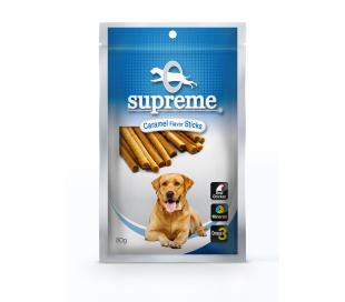 supreme חטיף בשר בטעם כרמל 80 גרם