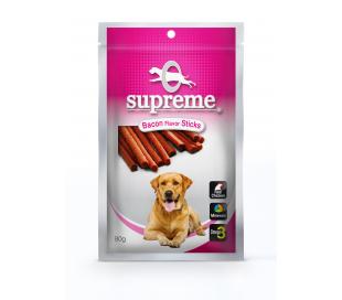 supreme חטיף בשר בטעם בייקון 80 גרם