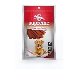 supreme חטיף בשר בטעם בשר 80 גרם