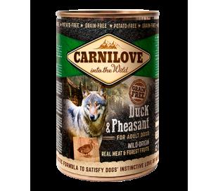 קרנילב שימורים לכלבים ברווז ופסיון  Carnilove Cans