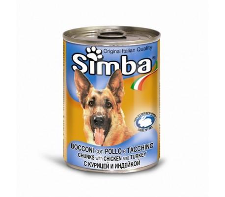 סימבה שימורים לכלבים בטעם בקר SIMBA
