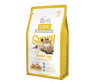 בריט קר - מזון לחתולים לשמירה על הפרווה  BRIT Sunny