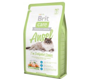 """בריט קר - מזון לחתולים מבוגרים 2 ק""""ג BRIT Angel"""