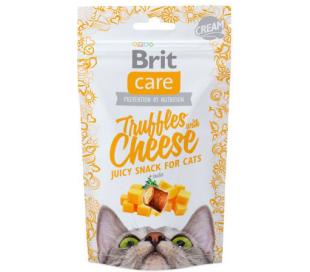 חטיף לחתול BRIT Care טראפלס גבינה