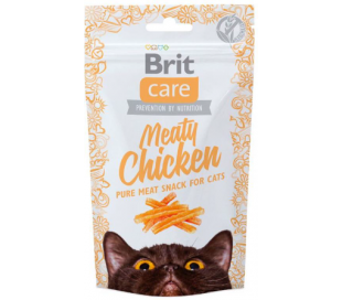 חטיף לחתול BRIT Care 100% עוף
