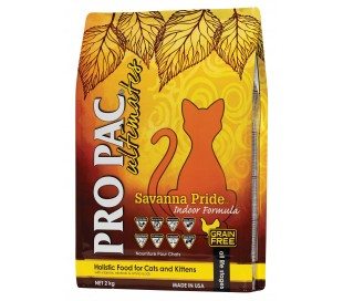 PRO PAC אולטימייט לחתול עוף סוואנה