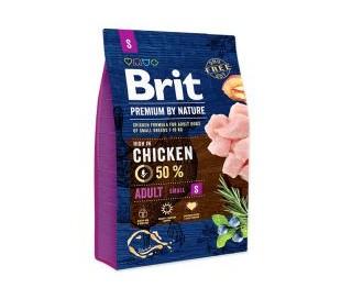 BRIT מזון לכלבים - בוגר גזע קטן S